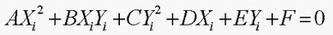 楕円の一般式1