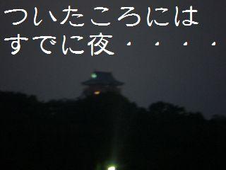 夜のお散歩ー1