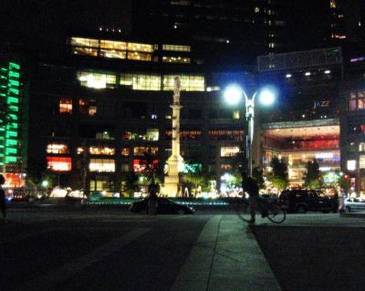 夜のセントラルパーク③