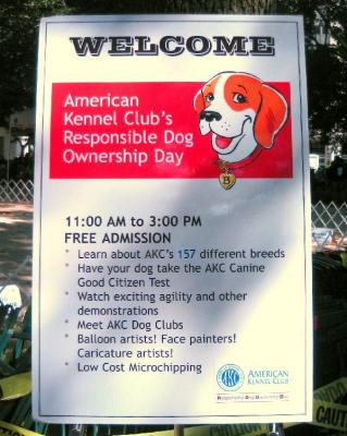 Responsible Dog ownership Day②