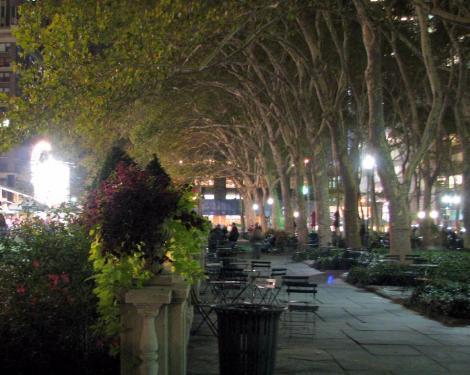 夜の公園⑧