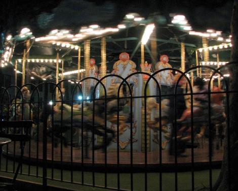 夜の公園⑨
