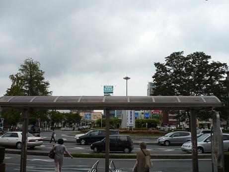 春日部駅前バス停2
