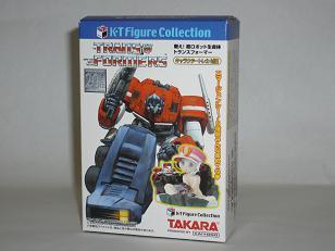 K・Tフィギュアコレクション 「戦え!超ロボット生命体 トランスフォーマー」