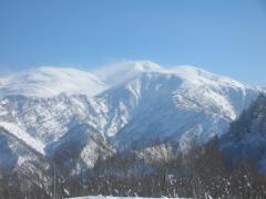 三村山1327からの白山