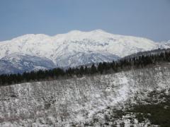 070415白山(取立山頂から)