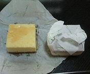 カドカドのチーズケーキ