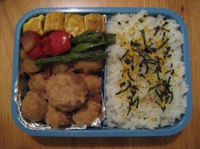 鶏ミート&アスパラベーコン1