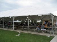 食事テント