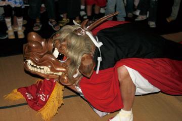 獅子舞と備前太鼓歌 コチャエ節