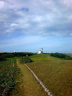 観測所への道