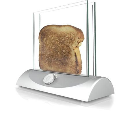 透明トースター