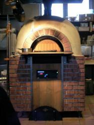 「フェルミエ」のピザ窯