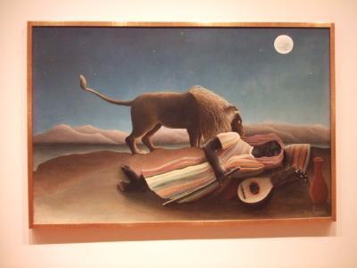 眠るジプシー女@MoMA