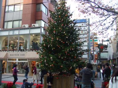 X'mas tree@自由が丘駅南口