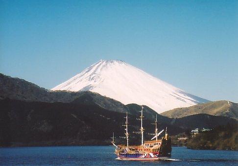 富士山@箱根 芦ノ湖