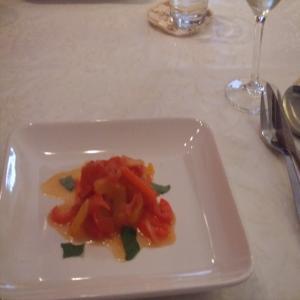 パプリカの前菜