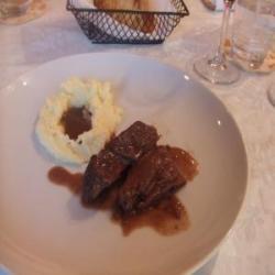 牛肉の煮込みとマッシュポテト1