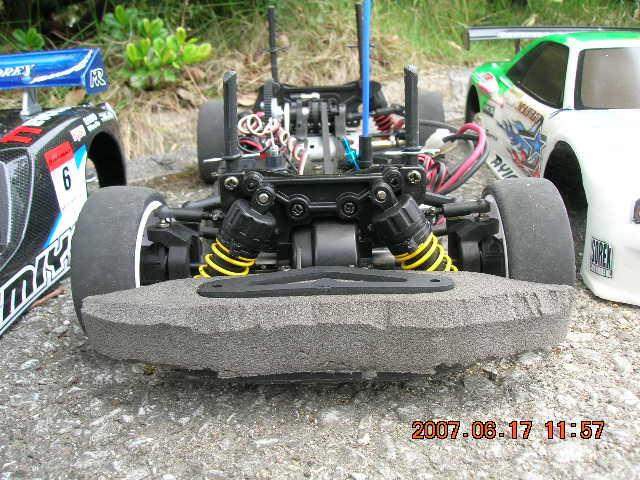 テストカー;TA04R