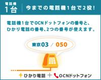 ocn ひかり電話1