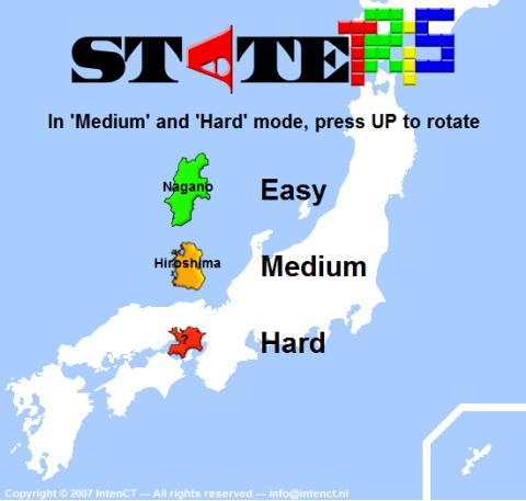 日本地図テトリス