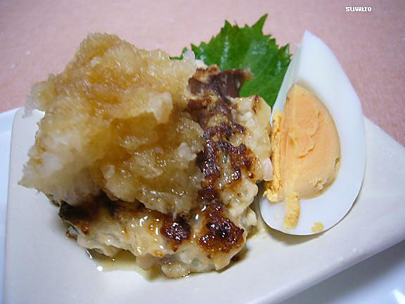 コリッとふわふわ砂肝つくね→はなまる岡江さんレシピ コリコリ食感が楽しい。