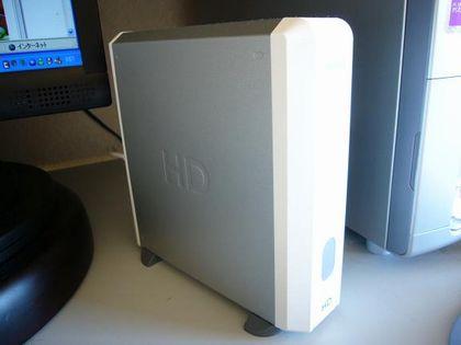320GBのハードディスク