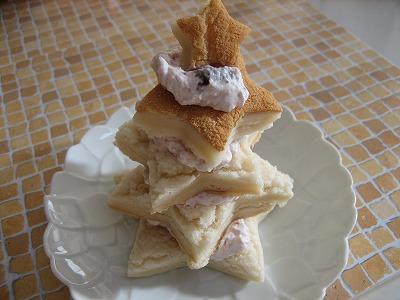 冷凍スポンジケーキ