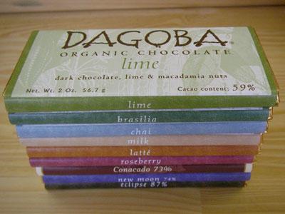 DAGOBA(ダゴバ)のオーガニックチョコレート