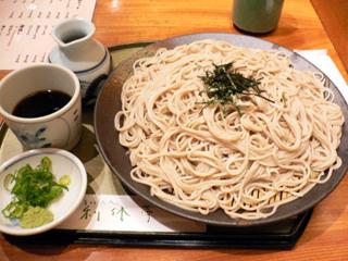 利休亭 ざる蕎麦
