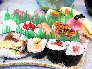あびる寿司 ランチのお寿司