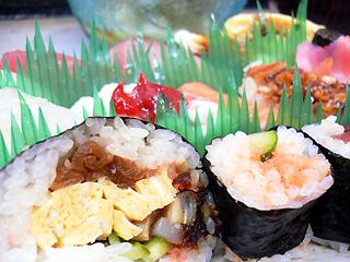 あびる寿司 ランチのお寿司2