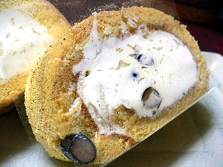 北摂ロールGOKOKU 丹波産黒豆と煎茶、きなこの豆乳ロール