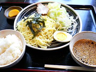 和楽 つけ麺定食