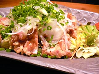 アジアンキッチン  鶏の唐揚げユーリンソース