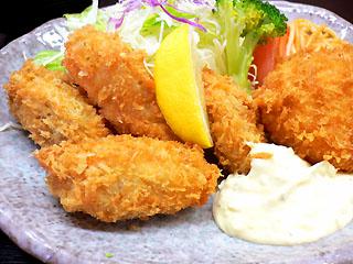 牡蠣フライとクリームコロッケ