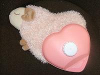 羊ハート湯たんぽ 2,100円