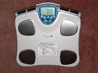 オムロン社の体重計