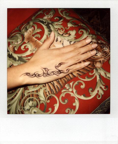 タイ女性の美しい手