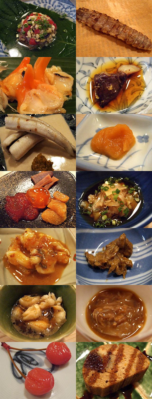 寿司いずみの肴