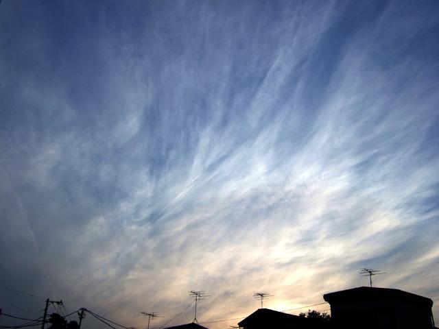 5月28日の東京の空