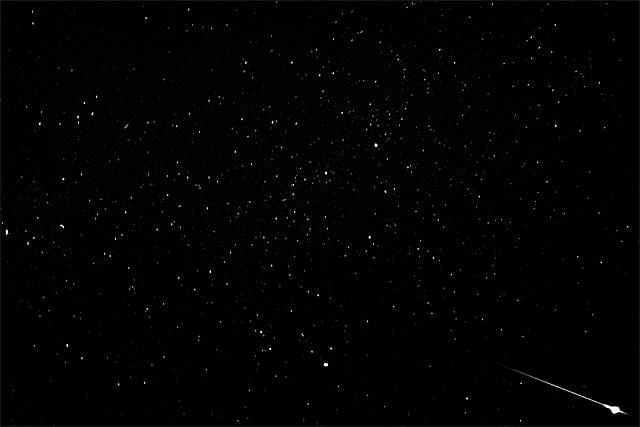 ペルセウス流星群 1978年
