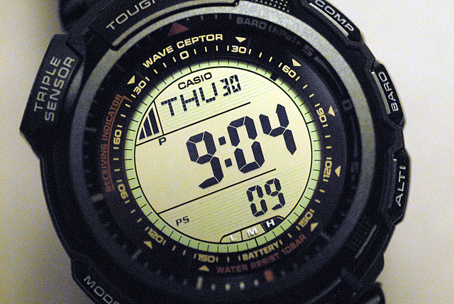 プロトレックPRW-1300J-3JF
