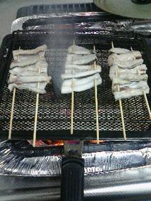 三本の串焼き