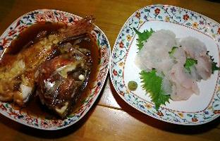 刺身&煮物