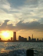 夕焼け横浜
