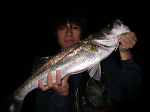 2007.9.12 涸沼 シーバス 2