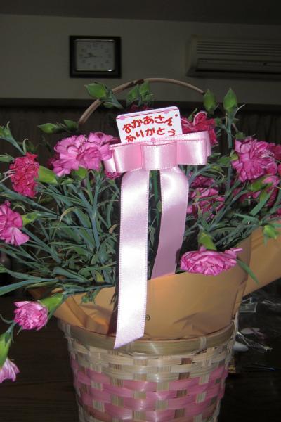 母の日のお花1