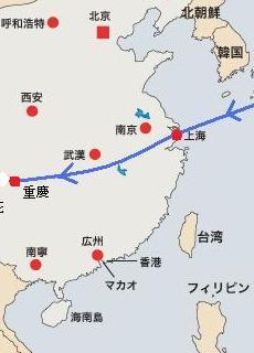 重慶へ.JPG 地図