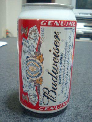 バドワイザー、一番飲みやすいビール。